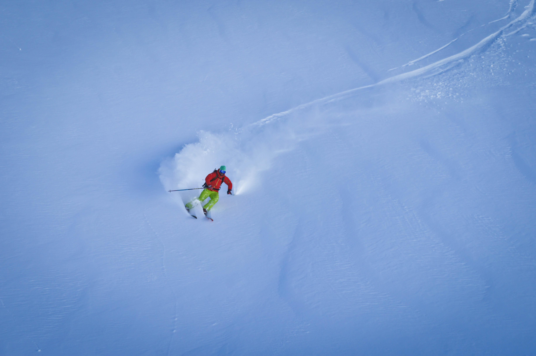 Un vendredi de ski freeride à Saint-Lary