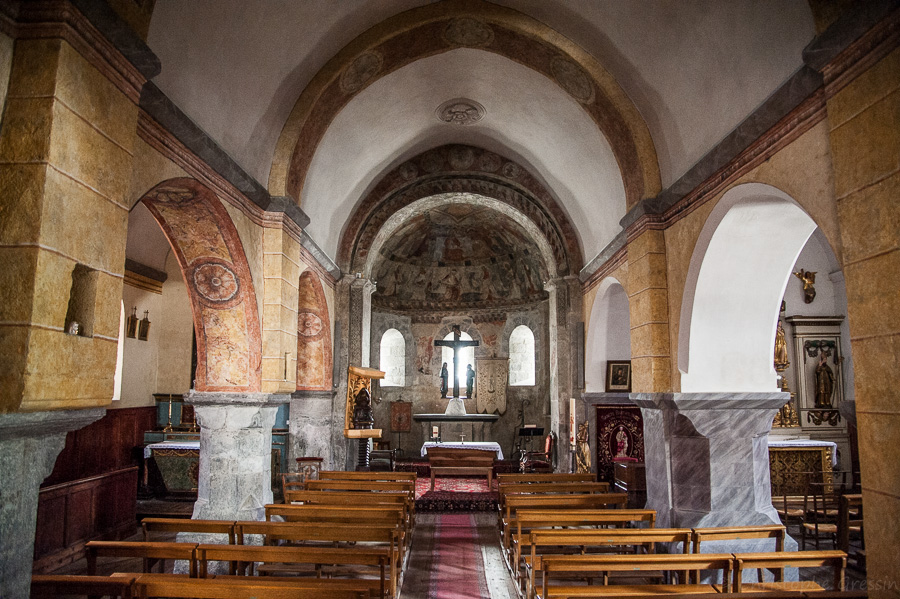 Eglise de Vielle Aure
