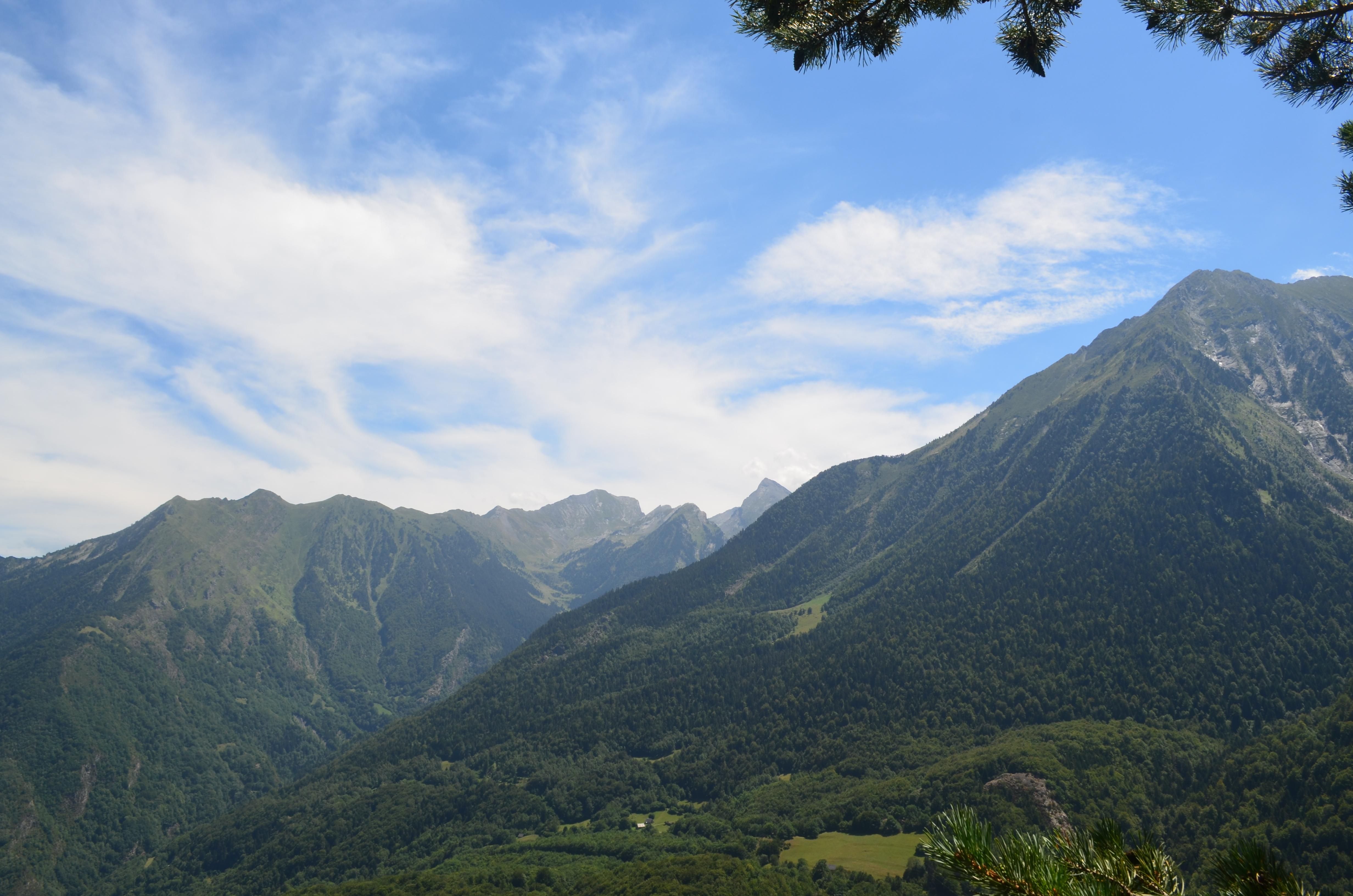 Randonnée au dessus de Saint-Lary : Sentiers de l'Auria et du Bedat