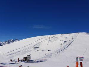 Snowpark de la station de Saint-Lary. Crédit photo Altiservice