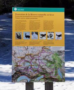Itinéraires de ski de randonnée conseillés.
