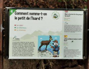 L'une des douze questions sur la faune, la flore ou les traditions pyrénéennes.