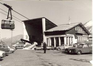 Gare de départ du téléphérique